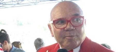 Il patron del Teramo, Luciano Campitelli