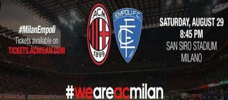 Milan-Empoli in diretta TV e probabili formazioni