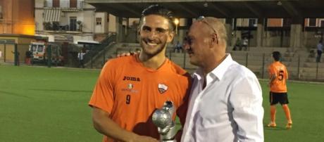 Sancatadese-Trapani, Ernesto Torregrossa premiato