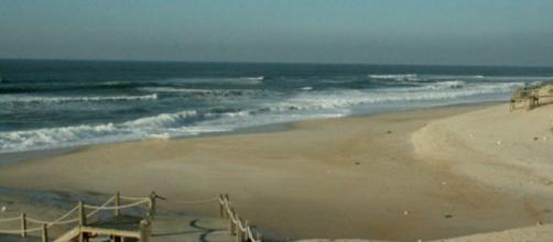 Afogamento mortal a norte da Praia do Pedrógão.