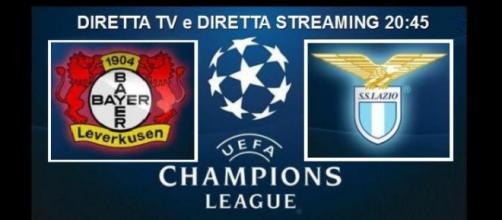 Dove vedere Bayer Leverkusen-Lazio