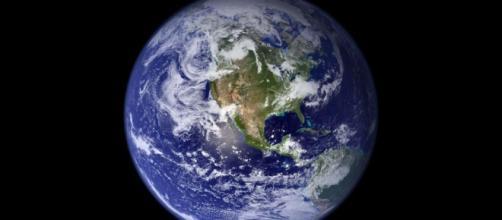 La Tierra captada por el satélite Terra: NASA.