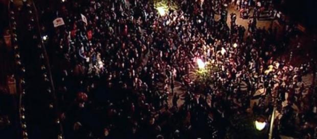 El pueblo de Tucumán protestando en las calles
