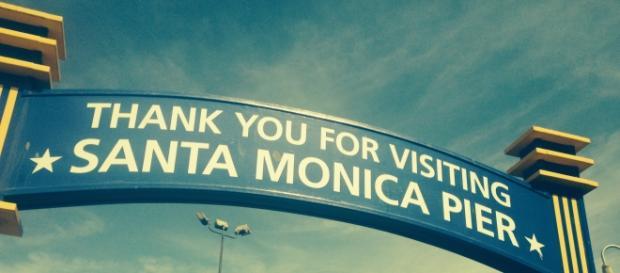 Il Molo di Santa Monica a Los Angeles