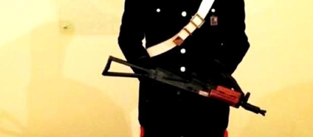 Italianul rasist a fost reținut de carabinieri