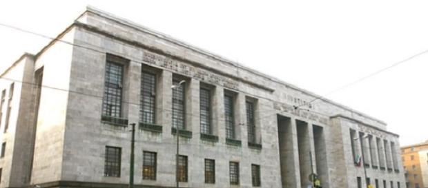 La sede del tribunale del lavoro di Milano