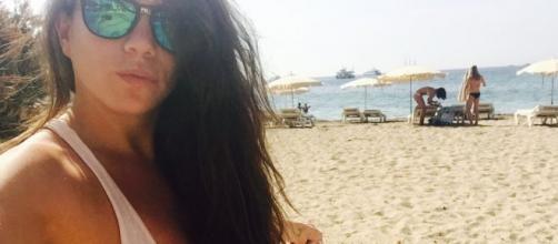 Samira, durante este verano en Ibiza