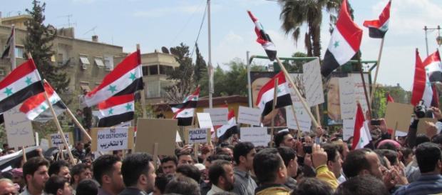 A Síria está em guerra civil desde 2011.