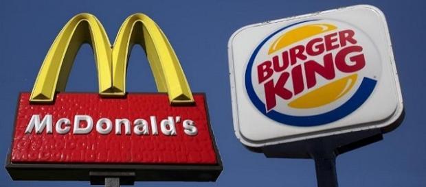 Logotipos de las cadenas de comida rápida popular