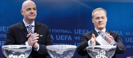 I sorteggi di Europa League a Nyon
