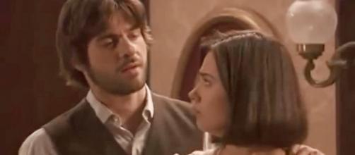 Maria e Gonzalo, protagonisti ne 'Il Segreto'
