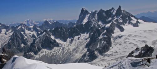 Massiccio meridionle del Monte BIanco