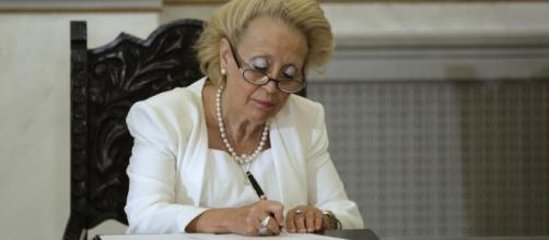 Vassiliki Thanou será Primer Ministro provisional.