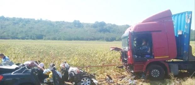 Accident între localitățile Hațeg și Ciopeia