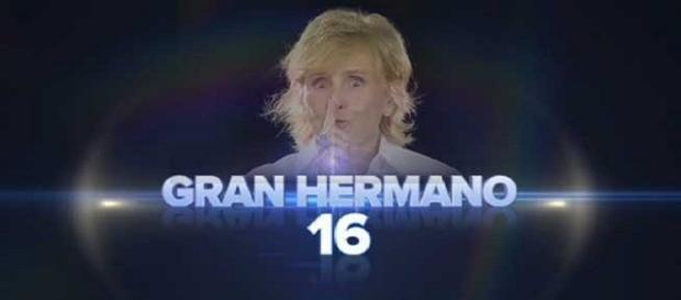 Logo con Mercedes Milá de Gran Hermano 16
