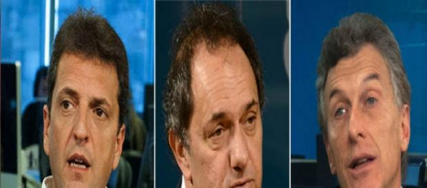 Scioli,Macri y Massa en The Council of América