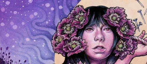 A capa do novo álbum dos Baroness, Purple