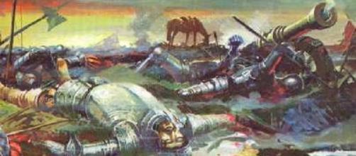 A morte dos soldados portugueses
