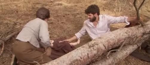 Il Segreto: Francisca salva Bosco e Beltran