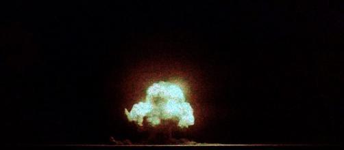 Trinity, la primera prueba nuclear. Wikipedia.