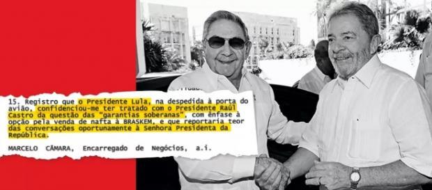 Documento prova que Lula foi lobista da Odebrecht