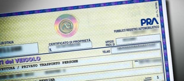 il certificato Pra ora abolito