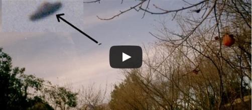 Immagini dell'avvistamento UFO (CUFOM Tv/YouTube)