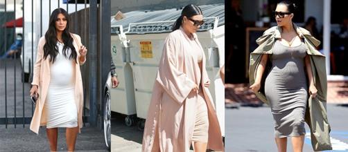 Kim Kardashian - Casacos longos... tendência?