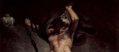 Thor contro il serpente del Midgard, J.H. Füssli