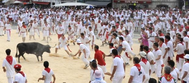 Fiestas de Bayona, sur de Francia
