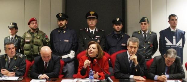 Pm Teresa Principato durante la conferenza stampa.