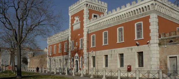 Un'immagine del carcere di Venezia