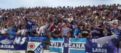 I sostenitori del Matera calcio
