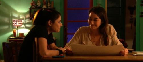 Ana y Miranda bajo un solo plano