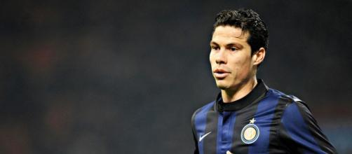 Hernanes, destinato a passare dall'Inter alla juve