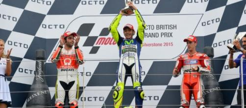 Rosi logró su primer triunfo en Silverstone