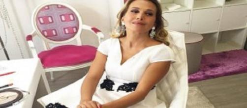 Barbara d'Urso dopo la caduta in diretta tv