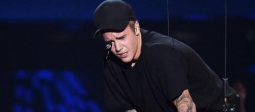 Justin Bieber sentiu que algo mudou neste momento.
