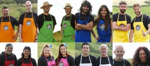 Los concursantes de Cocineros al Volante