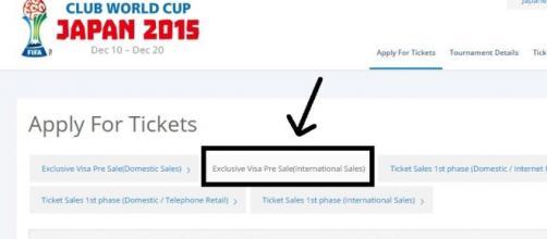 Página Oficial FIFA, primer paso