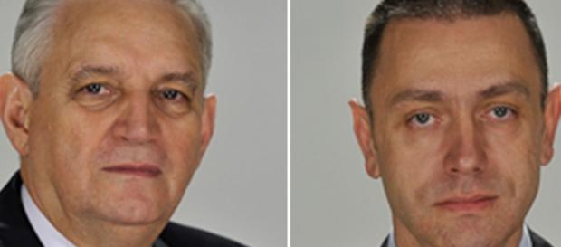 Ilie Sârbu şi Mihai Fifor foto senat.ro