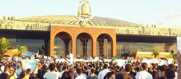 Manifesto contra a corrupção realizado em Palmas
