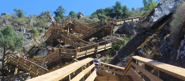 Uma das etapas mais duras é subir as escadas
