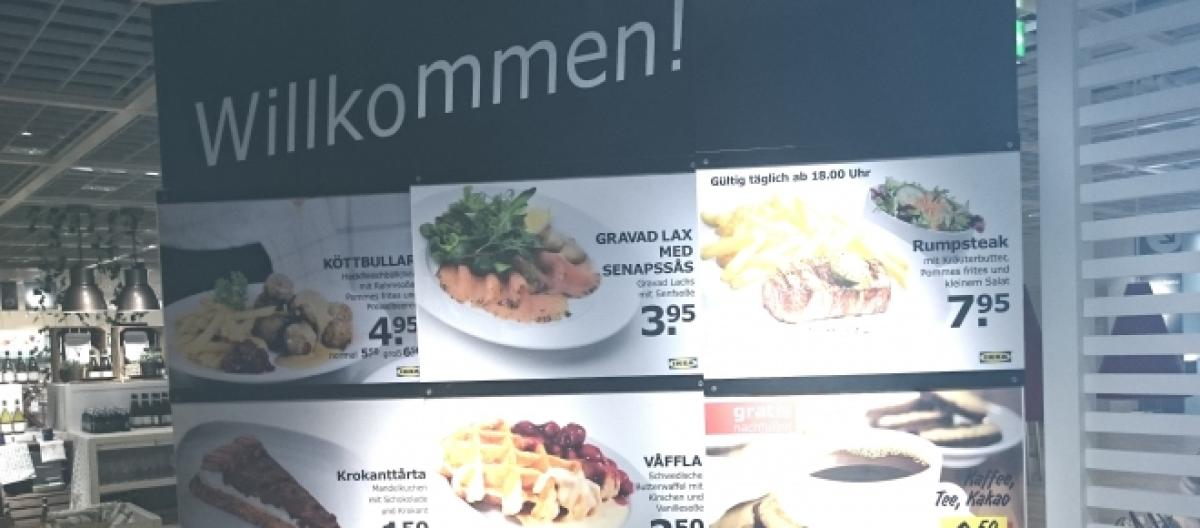 Ein Regal Und Dazu 15 Fleischballchen Ikea Restauranttest