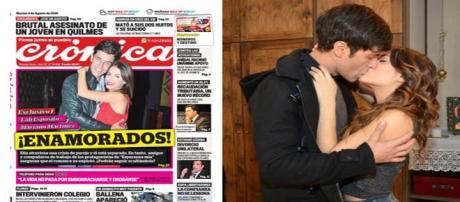 Crónica confirma el romance de Lali y Mariano