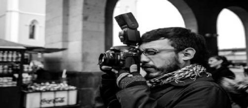 El reportero gráfico, Rubén Espinosa.