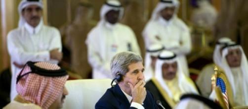 John Kerry Secrétaire d'Etat américain, 03/08/2015