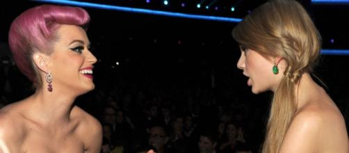 Katy Perry e Taylor Swift já foram boas amigas.