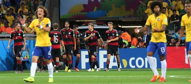 Alemanha aplicou 7x1 no Brasil na Copa de 2014