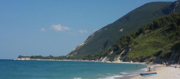 Monte Conero, Spiaggia Mezzavalle, Ancona, Italia
